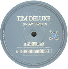 Tim Deluxe – I Know Remixes - Cross Section ‎– CS129 - Uk 1999