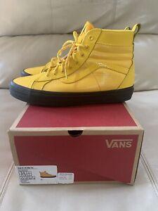 NIB Vans Sk8-Hi 46 MTE DX Black & Yellow Size 9.5 M / 11 W 3M Laces