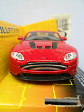 ASTON MARTIN V12 VANTAGE DIECAST WELLY BOXED OPENING DOORS PULL BACK AND GO 1/38