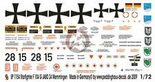 Peddinghaus 1/72 German F-104G Starfighter Markings from JaboG 34 Memmingen 1154