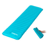 Portable Camping Inflatable Air Mat Mattress Pad Rest Ultralight Sleeping Airbed
