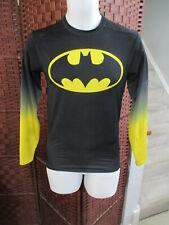 Men's Batman Under Armour Compression Shirt Long Sleeve Medium