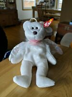 Ty Beanie Baby Halo Bear - MAKE OFFER!!! THERE ARE NO BAD OFFERS!