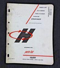Hercules RXC HXD JXD ETC ENGINE Dataplate WW2