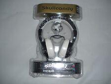 New Black and White Skullcandy Nor Cal Hesh Custom Headphones 50mm Speaker Music