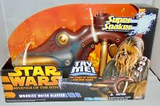 New Star Wars Revenge of the Sith Super Soaker Wookie Water Blaster Sealed