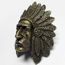 Boy Scout Indian Chief Woggle/neckerchief slide item no. WK59