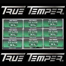 18 New True Temper Tt-Lite Shaft Labels R or S