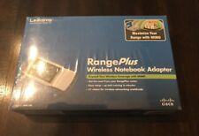 Cisco Linksys Range Plus Wireless Notebook Adapter, WPC100 NEW SEALED