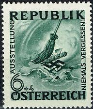 Austria Germany WW2 1945 Nazi Occupation End stamp MLH