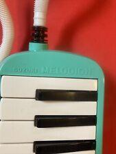 Melodion Suzuki Melodica Vintage Turquoise Music Instrument Melodion Retro