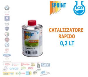 CATALIZZATORE HS RAPIDO C16 FONDO ISOLANTE ACRILICO TRASPARENTE  AUTO 200 ML