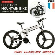 Samebike LO26 Vélo électrique Pliant 26 E-BIKE Montagne 350W 48V Shimano 21 LED