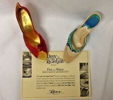 Nib Just the Right Shoe Club Special ~ Raine Willits - #90113 Fire and Water