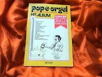 POP E-ORGEL Hit-Album 20 gröste Party-Hits (Notenheft) Titel in der Beschreibung