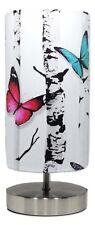 Papillon Lampe Lumière Nuit arbres abat-jour Table de chevet Filles Chambre Nursery