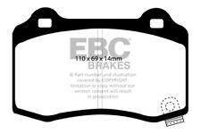EBC Yellowstuff Rear Brake Pads for Chevrolet Camaro (5th Gen) 6.2 (2009 > 10)
