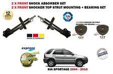 für Kia Sportage 2004->2 x vorderen Stoßdämpfer Shocker Satz + 2 x