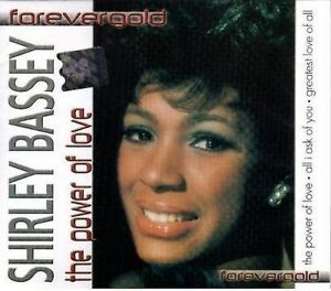 Shirley Bassey - The Power Of Love   new cd ( in seal )