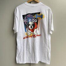 Star Wars Return Dogi Jedi Big Dogs Tee Shirt XL 3X 4X 5X White Luke Darth