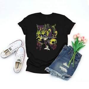 Maleficent Vintage T-shirt   Black