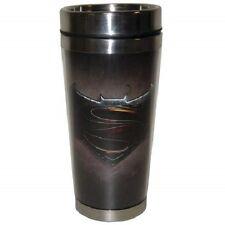 26611 Batman Emblem 16oz Travel Mug Cup Coffee Tea Dc Comicsr Heroes Superman