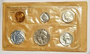 1961 US PROOF SET BLAST WHITE EXCELLENT BU NICE COINS!