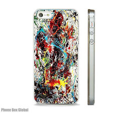 CONTEMPORARY ABSTRACT PAINT ART CASE FIT IPHONE 4 4S 5 5S 5C 6 6S 7 8 SE PLUS X