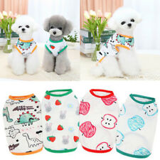 Dog Vest Summer Pet Dog Clothes t Shirt Puppy Clothing For Samll Dog Chihuahua