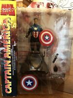 Marvel Select Captain America No Mask Variant