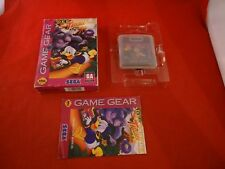 Deep Duck Trouble Starring Donald Duck (Sega Game Gear, 1994) COMPLETE w/ Box