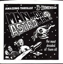 "man or astro-man? amaing thrills! in 3-dimension 7"" promo"
