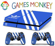 Skin PS4 ADIDAS ORIGINAL limited edition DECAL COVER Playstation 4 SONY BUNDLE