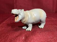 Safari Ltd Grey Hippopotamus 1996 Retired Miniature Collectible Toy African