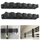 Fishing Rod Rack Vertical Holder Wall Mount Storage Horizontal Boat Pole Stand