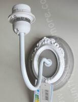 CLAYRE & EEF, Lampe, Wandlampe, Grau - Weiß, Shabby, Cottage Stil,French,Franske