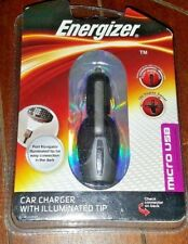 New Energizer Car Charger 180 Degree Swivel ~MICRO USB~ ENG-CLA002