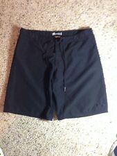 ROXY by Quiksilver Ladies  Black Bathing Suit Board Shorts Juniors Sz 3. Ked