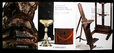 Christies catalogue - x3, furniture and decorative objects,  f105here we have a