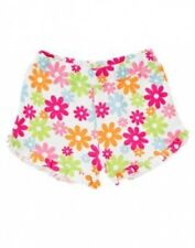 NWT~ Gymboree ICE CREAM SWEETIE pink green blue flower floral ruffle shorts~6-12