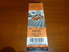 1999 MAJOR LEAGUE MLB BASEBALL TICKET RARE BALTIMORE ORIOLES VS TAMPA BAY D RAYS