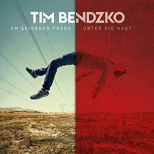 2CD*TIM BENDZKO**AM SEIDENEN FADEN / UNTER DIE HAUT*DOPPEL-CD***NAGELNEU & OVP!!