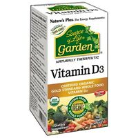 Nature's Plus Source of Life Garden Organic Vitamin D3 5000iu VCaps 60
