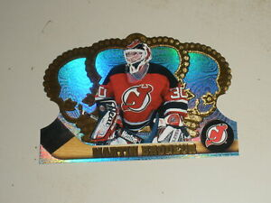1997-98 Pacific Crown Royale Ice Blue Die Cut #73 Martin Brodeur