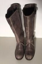 Schuler & Sons Philadelphia Brazil Darcy Brown Distressed Leather Sz 7B Boots