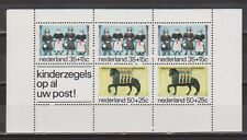 NVPH Nederland 1083 blok sheet MNH PF kinderzegels 1975 Netherlands Pays Bas