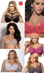 Sale! Women's Gorsenia unpadded padded balconette bras size 30 32 34 38 40 42