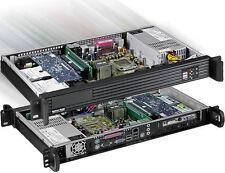 "1U ITX (Riser Card) (3.5"" Bay or 2x2.5 HD) Rackmount Chassis(2x4cm Fan Case) NEW"