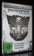 DVD TRANSFORMERS TRILOGIE 1 + 2 + 3 - SHIA LaBEOUF + MEGAN FOX + TYRESE GIBSON *