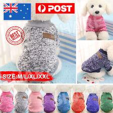 Knitwear Cute Pet Dog Sweater Cat Jumper Winter Puppy Knitted Coat Pet Clothes